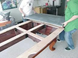 Pool table moves in Bend Oregon