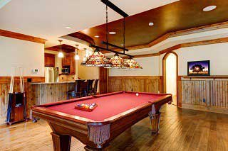 bend pool table installers feature